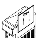Grindmaster W0890208 Crathco Concealed Filter Kit
