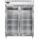 "Continental Refrigerator D2RENSAGD 57"" W Two-Section Glass Door Reach-In Designer Line Wide Refrigerator"