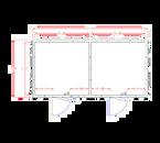 """American Panel 10X20-I 90""""H x 231""""W x 116""""D Indoor Walk-In Combination Cooler/Freezer (50/50 split)"""
