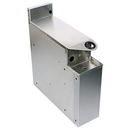 "Glastender SHA-6-ED Stainless Steel Extra Deep Underbar Soda Gun Holder - 6""W x 19""D x 25""H"