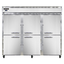"""Continental Refrigerator 3FES-SA-HD 85.5"""" W Three-Section Solid Door Reach-In Extra-Wide Freezer"""