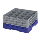 Cambro 16S738186 Camrack Glass Rack With (3) Soft Gray Extenders