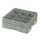 Cambro 9S434151 Camrack Glass Rack With (2) Soft Gray Extenders
