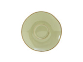 "Tuxton Gas-084  6-3/8""  Ceramic  Sagebrush  Round  Saucer"