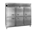 "Traulsen Rht332Nut-Hhs 76.31"" W Three-Section Reach-In Spec-Line Refrigerator"