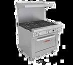 "Southbend 4363A-2TL-LP 36"" Liquid Propane Ultimate Restaurant Range - 146,000 BTU"