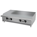 "Aseber AETG-48-H 48"" Liquid Propane Countertop Griddle - 96,000 BTU"