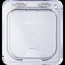 Carlisle 10319Z07 Storplus Ez Access Universal Lid For 1/6 Size Food Pan Clear