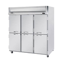 "Beverage Air HFP3-5HS 78"" W Three-Section Solid Door Reach-In Horizon Series Freezer"