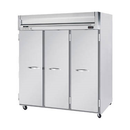 "Beverage Air HFS3-5S 78"" W Three-Section Solid Door Reach-In Horizon Series Freezer"