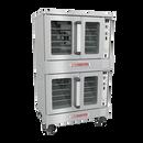 SouthbEnd BGS/23SC-NG Bronze Natural Gas Double-Deck Convection Oven - 40,000 BTU/Deck
