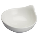 "Winco WDP021-103  3-3/4""  3 Oz.  Porcelain  Bright White  TearDrop  Dish  ( 36 pieces per Case)"
