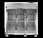 Traulsen AHT332WP-HHG Spec-Line Refrigerator Pass-Thru Display Three-Section