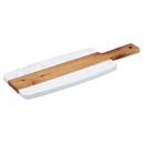 Winco SBMW-117  Wood  White  Rectangular  Serving Board
