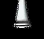 "Bon Chef S3204 8-1/2"" Stainless Steel Aspen Table/Serving Spoon - 1 Dozen/Package"