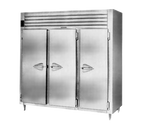 "Traulsen Aht332N-Fhs 76.31"" W Three-Section Reach-In Spec-Line Refrigerator"