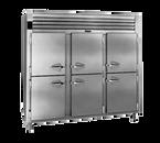 """Traulsen ALT332N-HHS 76.31"""" W Three-Section Solid Door Reach-In Spec-Line Freezer"""