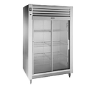 "Traulsen Rht232Wut-Fsl 58"" W Two-Section Glass Door Reach-In Spec-Line Refrigerator"