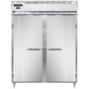 "Continental Refrigerator D2RENPT 57""W Two-Section Steel Door Designer Line Wide Refrigerator"