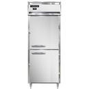 "Continental Refrigerator DL1FE-HD 28.5"" W One-Section Solid Door Reach-In Designer Line Wide Freezer"