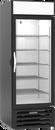 "Beverage Air MMR23HC-1-B-IQ 28.25"" W One-Section Glass Door MarketMax Refrigerated Merchandiser"