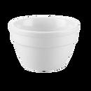 "CAC China RCN-B544  4""  8 oz  Porcelain  Super White  Round  RCN Specialty Bowl"