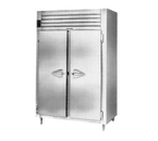 """Traulsen Aht226Wut-Fhs 58"""" W Two-Section Reach-In Spec-Line Refrigerator"""