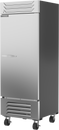 """Beverage Air SF1HC-1S 30.06"""" W One-Section Solid Door Reach-In Slate Series Freezer"""