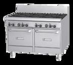 """Garland GF48-4G24LL 48"""" Gas GF Starfire Pro Series Restaurant Range - 204,000 BTU"""
