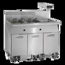 Imperial IFSCB350EUT 50 lb Electric Fryer - 208 Volts