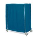 "Metro 24X48X62UCMB Metro Cart Cover 48""W Uncoated Denier Nylon With Pvc Zipper Mariner Blue"