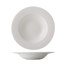 "CAC China GDC-105  10""  16 oz  Porcelain  Bone White  Round  Grand Canyon Pasta Bowl"