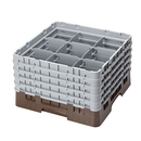 Cambro 9S958167 Camrack Glass Rack With (5) Soft Gray Extenders