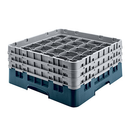 Cambro 36S534414 Camrack Glass Rack With (2) Soft Gray Extenders