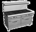 """Southbend 4603CC-2CL 60"""" Gas Ultimate Restaurant Range - 204,000 BTU"""