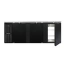 "Continental Refrigerator BB90SNPT 90""W Solid Door Refrigerated Back Bar Cooler"