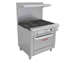 "Southbend 4364D-LP 36"" Liquid Propane Ultimate Restaurant Range - 243,000 BTU"