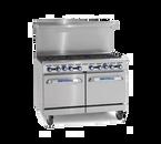 """Imperial IR-2-G48 LP 60"""" Liquid Propane Pro Series Restaurant Range - 214,000 BTU"""