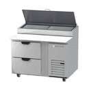 """Beverage Air DPD46HC-2 46"""" W One-Section Pizza Top Refrigerated Counter"""