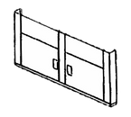 Piper Products HD-74 Hinged Doors