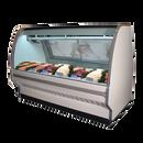 "Howard McCray SC-CFS40E-8C-S-LED 99.5""W Fish/Poultry Service Case"