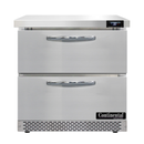 """Continental Refrigerator SW32N-FB-D 32""""W One-Section Work Top Refrigerator"""