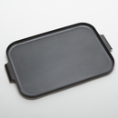 American Metalcraft MTB20  Melamine  Black  Rectangular  Endurance Market Tray