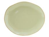 Tuxton Gas-023  Ceramic  American White/Eggshell  Oval / Oblong  Platter