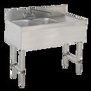 "Advance Tabco SLB-32L-X 2 Compartment Special Value Sink Unit 36""W x 18""D x 33""H"