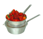 """Town 37908H Strainer 8"""" Dia. With Handle & Hook Aluminum"""