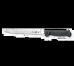 "Victorinox Swiss Army 5.3763.20 8"" Black Boning Knife with Fibrox Pro handle"