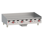"""Wolf AGM60-NG 60"""" Natural Gas Heavy Duty Gas Countertop Griddle - 135,000 BTU"""