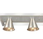 Piper Products RBHL-96 Bullet Type Heat Lamps with 6 Openings