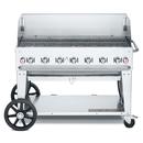 "Crown Verity CV-MCB-48-SI50/100-WGP 56"" Outdoor Charbroiler - 99,000 BTU"
